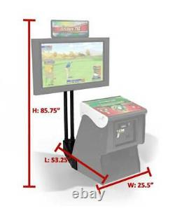 Golden Tee Arcade Golf Game Monitor Stand