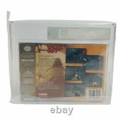 Goldeneye 007 Players Choice Nintendo 64 N64 New Sealed Graded VGA 95 Gold MINT