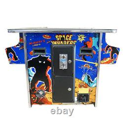 HUGE 22 inch screen CLASSIC ARCADE COMMERCIAL COCKTAIL TABLE 60 GAMES BRAND NEW