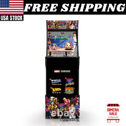 Home Arcade 1Up Game Cabinets Authentic X-Men vs Street Fighter Marvel Capcom