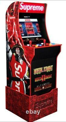 In Hand Ships Today Supreme x Mortal Kombat Arcade Machine by Arcade1UP