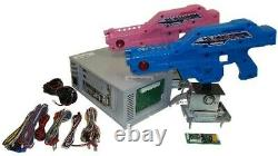 Jamma 3-IN-1 Gun shooting game complete kit, House of Dead, Alien, Paradise Lost