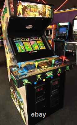 Konami Teenage Mutant Ninja Turtles Arcade Game