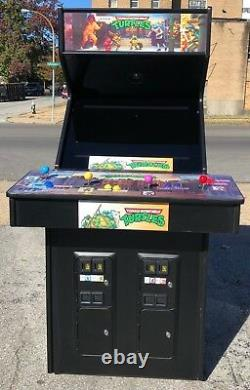 Konami Teenage Mutant Ninja Turtles Arcade Game (TMNT)- New 27 Monitor-Sharp
