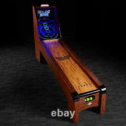 Lancaster 108 Inch Classic Arcade Roll and Score, Skee Ball Game Machine Table