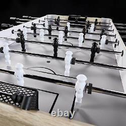 Lancaster Gaming Vogue 54 Arcade Style Foosball Soccer Table with Beaded Scoring