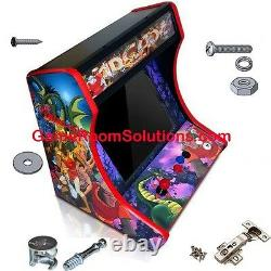 MDF Table Top Arcade Cabinet Cam Lock System Included! Pick Control Panels