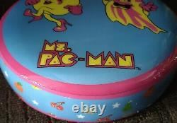 MS. Pac Man Stool 19 Height NEW PRODUCT