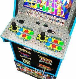 Marvel Vs Capcom Arcade 1UP Machine Cabinet Stool Riser 5 Games LIMITED EDITION