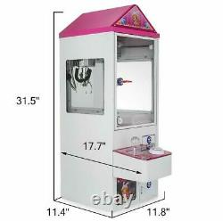 Mini Claw Crane Machine Candy Toy Grabber Catcher Carnival Charge Play Mall m