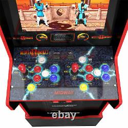 Mortal Kombat 2 Midway Legacy (Light up Marquee and Riser) Brand New