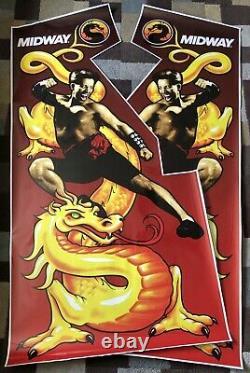 Mortal Kombat Arcade Side Art Artwork MK1 CPO Midway
