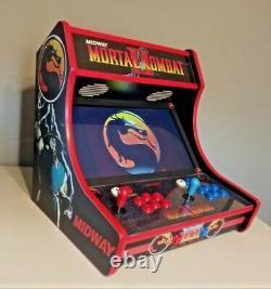 Mortal Kombat Multicade Tabletop Bartop Arcade Cabinet 12,000+games