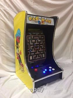 Ms PacMan Galaga Mini 19 Full Size Monitor Upright Arcade Game Multicade BarTop