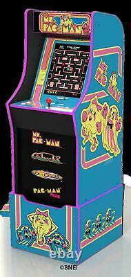 Ms Pacman Arcade Machine with Riser Retro Arcade Cabinet New 4 Games