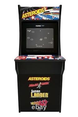 Multi-Game Arcade Cabinet with Asteroids Major Havoc Lunar Lander Tempest