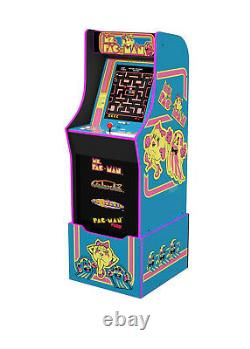 NEW Arcade1Up Ms. Pac-Man Arcade Cabinet with 4 Games