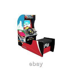 NEW Arcade1Up OutRun Seated Arcade Cabinet 4 Games in 1 Original OutRun Artwork