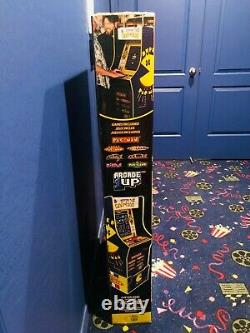 NEW Arcade1Up Super Pac-Man/Pacman, Dig Dug, Galaga, Galaxian Cabinet With Riser