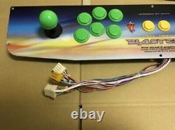 NEW Genuine Stainless Control Panel SEGA Blast City Arcade Candy Cabinet Sanwa