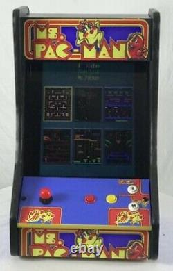 NEW MS. PAC-MAN/GALAGA DONKEY KONG ARCADE + 60 in 1 TABLETOP 19 inch Monitor