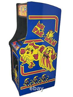 NEW MS. PacMan Multicade Classic Arcade Machine Plays 60 Games Pac Man FULL SIZE