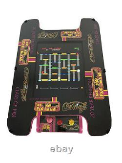NEW Ms PacMan Black Galaga 20th Anniversary Cocktail Table Multicade 60 Games