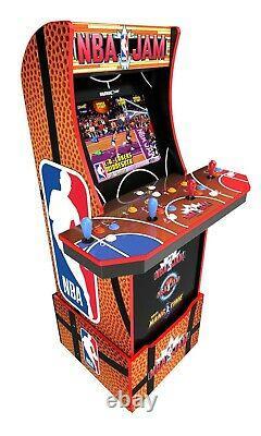 NEW NBA Jam Arcade Cabinet Retro Arcade 1UP LightUp Marquee Arcade Machine Wi Fi
