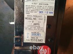 NOS Zenith DS9CNF1 Amber IBM 5155 Computer Monitor 1984 Arachnid Super 6 Darts