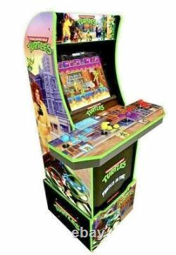 New Arcade1Up TMNT Teenage Mutant Ninja Turtles Arcade Cabinet Game Machine