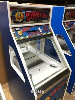 New BONUS HOLE Coin Quarter Pusher Arcade Game Skill Based aka Tropical Treasure