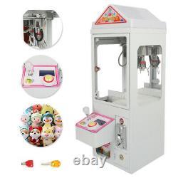 New! Mini Metal Case Player Claw Crane Machine Candy Toy Grabber Catcher 110V US