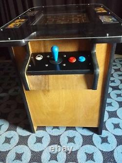 New Ms Pac-man Galaga Cocktail Table Video Arcade Game, 5 Yr Warranty, Free Ship