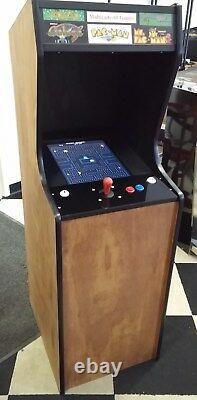 New Ms Pac-man, Galaga, Pacman Video Arcade Game, 5 Yr Warranty, Free Ship