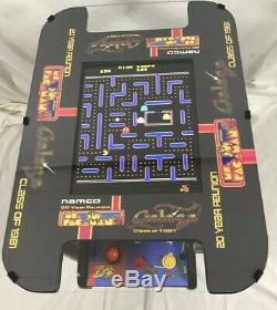 New Ms PacMan Galaga 20th Anniversary Cocktail Table Arcade 60 games Multicade