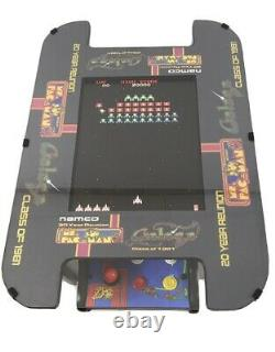 New Ms PacMan Galaga 20th Anniversary Cocktail Table Arcade 60 games Sticker