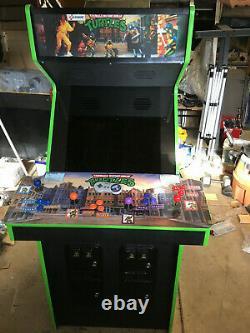 New Teenage Mutant Ninja Turtles Four Player Arcade multi game TMNT