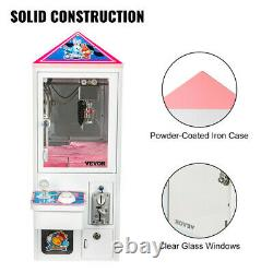 Newest Mini Metal Case bar top Claw Crane Machine candy toy catcher For Sale