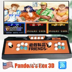 Newest Pandora Box 3D games 4018 in 1 with WIFI Video Game Arcade Console USA