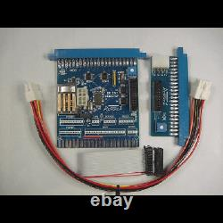Nintendo PCB Switcher 2 PCB in same cabinet! Donkey Kong Includes rainbow cables