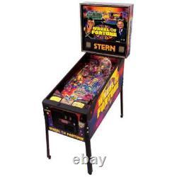 PLAY FIELD NOS Stern Wheel of Fortune Pinball Machine Playfield