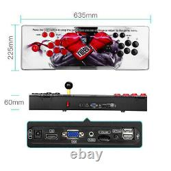 Pandora's Box 12 3188 in 1 Video Gaming 4Player Arcade Console LCD USB 3D HD Red