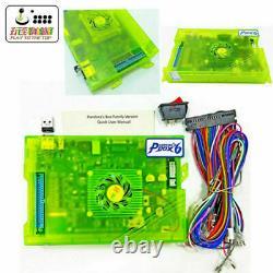 Pandora's Box 6 1300 in 1 Arcade DIY Kit 2 Joysticks LED Button Game Board Set