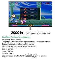 Pandora saga box 3000 IN 1 Wifi TV 3D game Box Video Games Arcade Retro Console