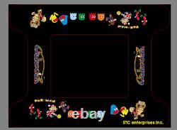 RETRO Video Arcade Cocktail Table, 412 Games, LED Buttons & Joystick