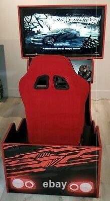 Racing Arcade Driving Simulator NEW works with MAME, PLAYSTATION, XBOX, LOGITECH