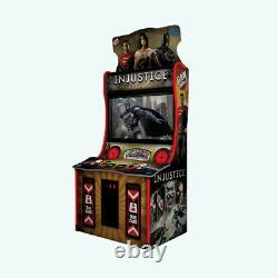 Raw Thrills Injustice with DC Superheroes 43 Monitor Arcade Machine Video Game