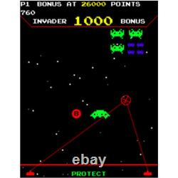 Raw Thrills Space Invaders Frenzy Video Arcade Game