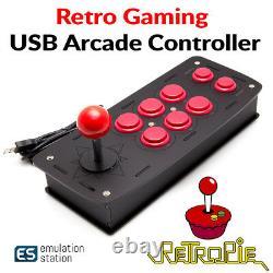 Retro Games Arcade Joystick Controller Compatible with RetroPie, Raspberry Pi 3