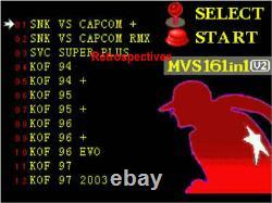 SNK NEO GEO AES 161 in 1 JAMMA multi game Cartridge, SNK AES V2